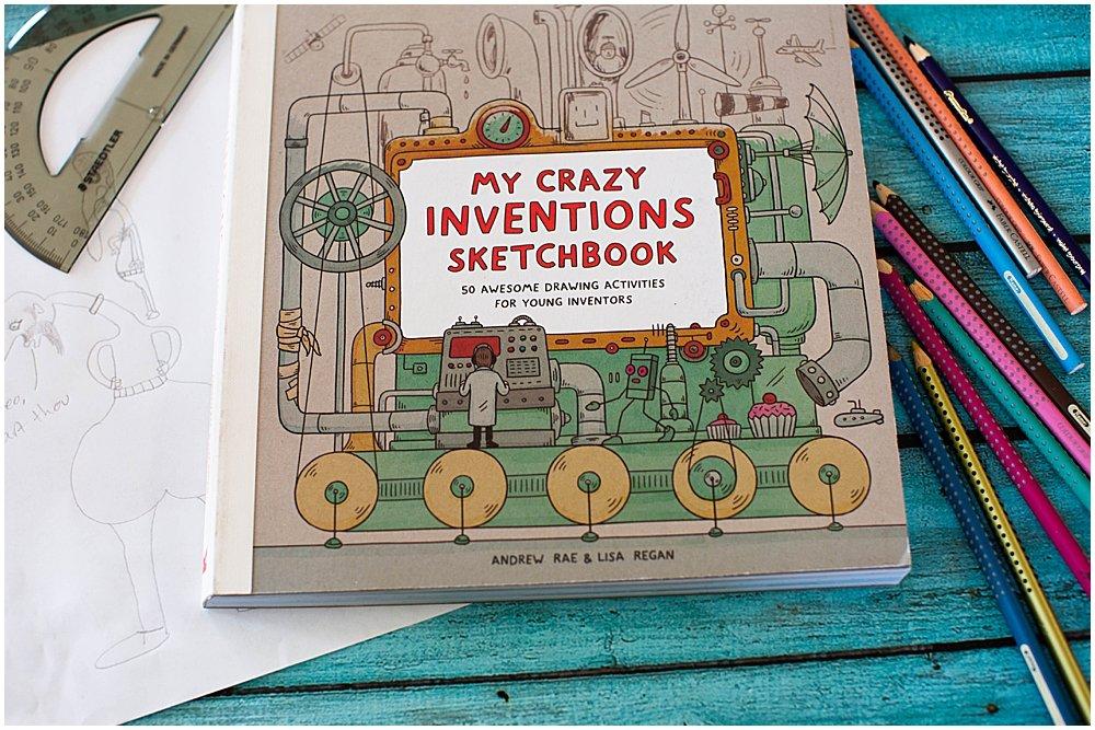 My Crazy Inventions Sketchook