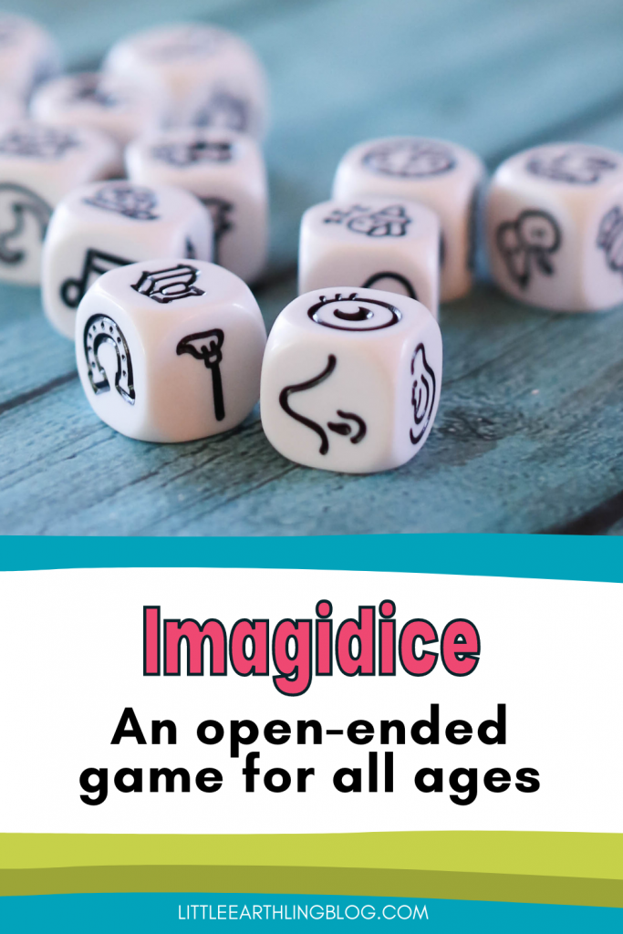 Imagidice: an open-ended cooperative game for families.