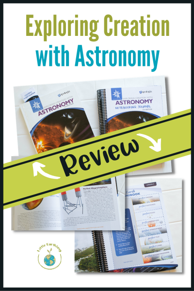 An honest review of Exploring Creation with Astronomy.