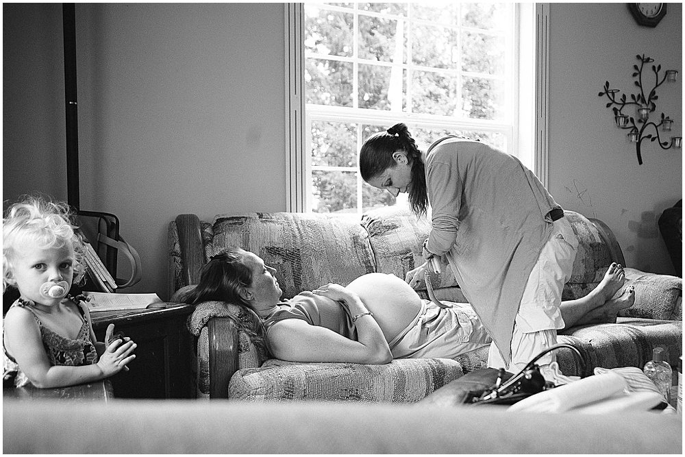 Renee Bergeron is a birth photograher in Whatcom county.