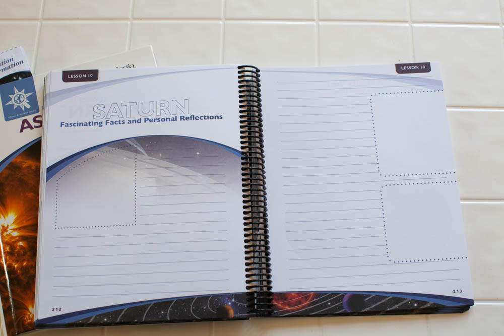 Exploring Creation with Astronomy Notebooking Journal,