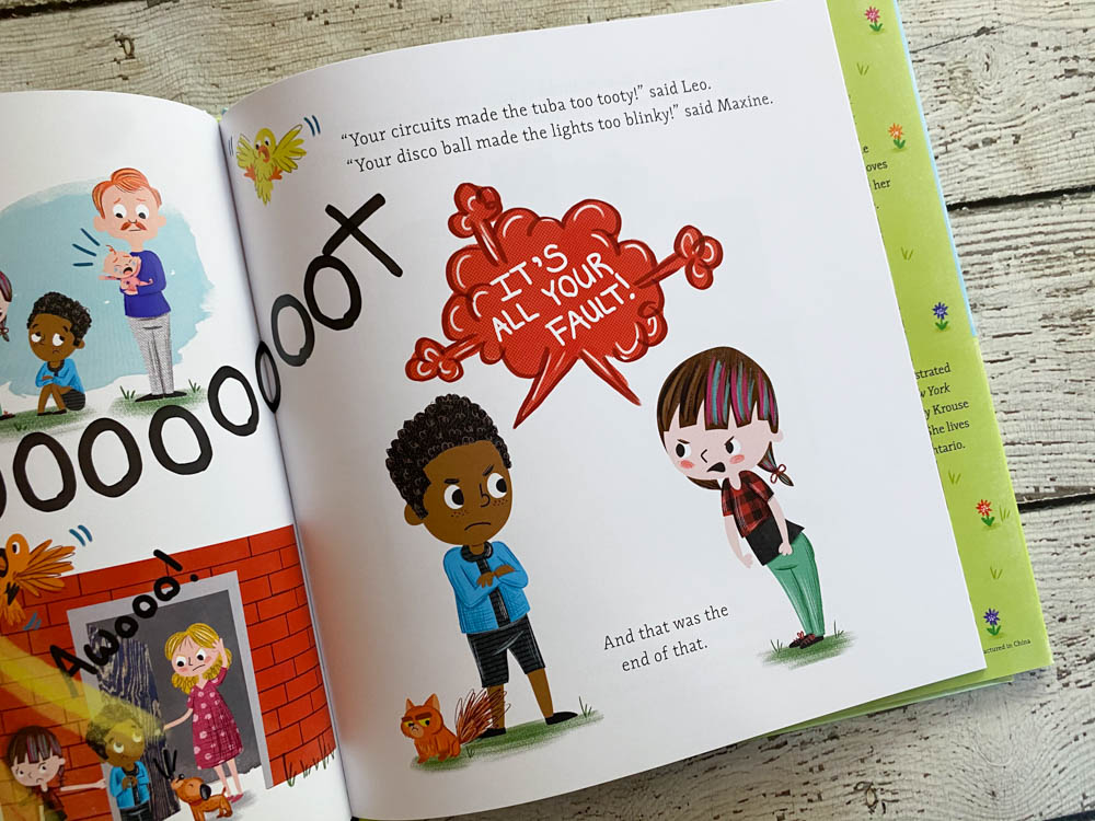 This book teaches great lessons about friendship.