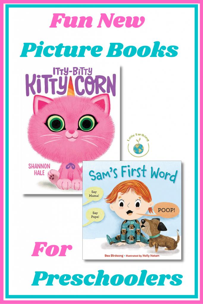 Two fun new picture books for preschoolers