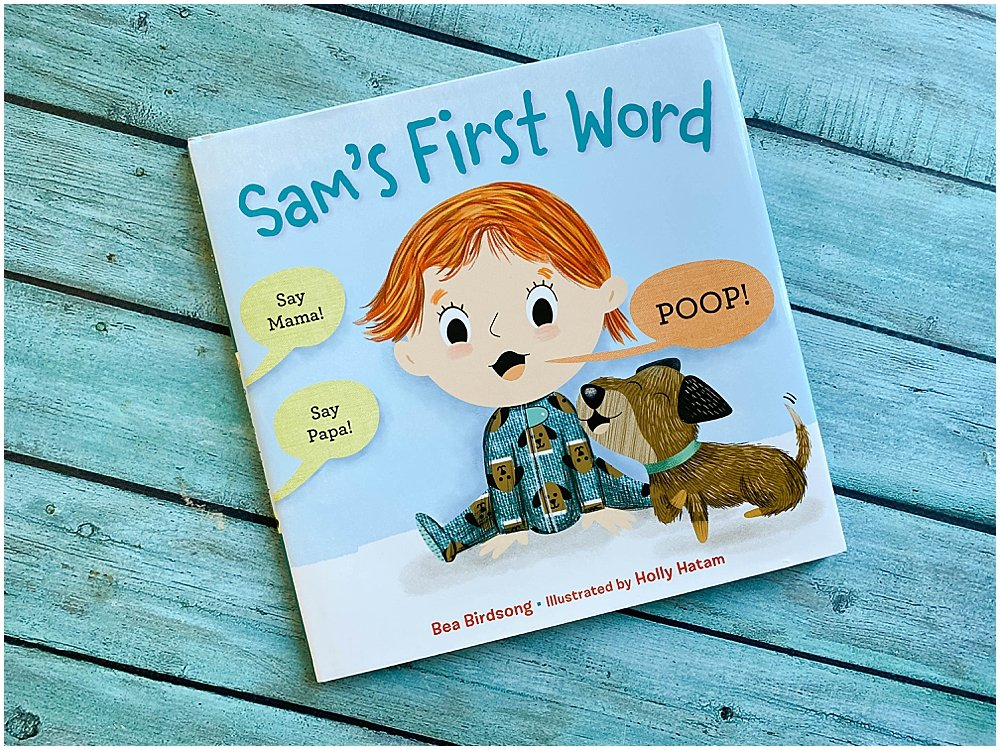 Sam is eager to say her first word...but noone is listening