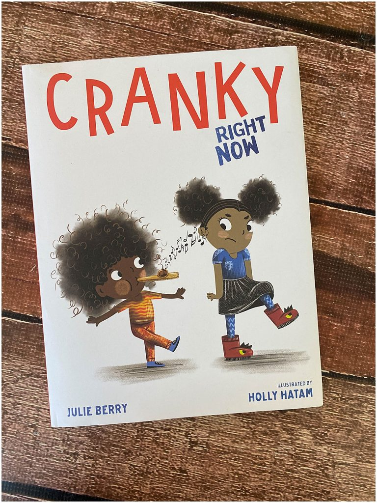 Cranky Right Now uses diverse characters to display something we can all relate to...being CRANKY.