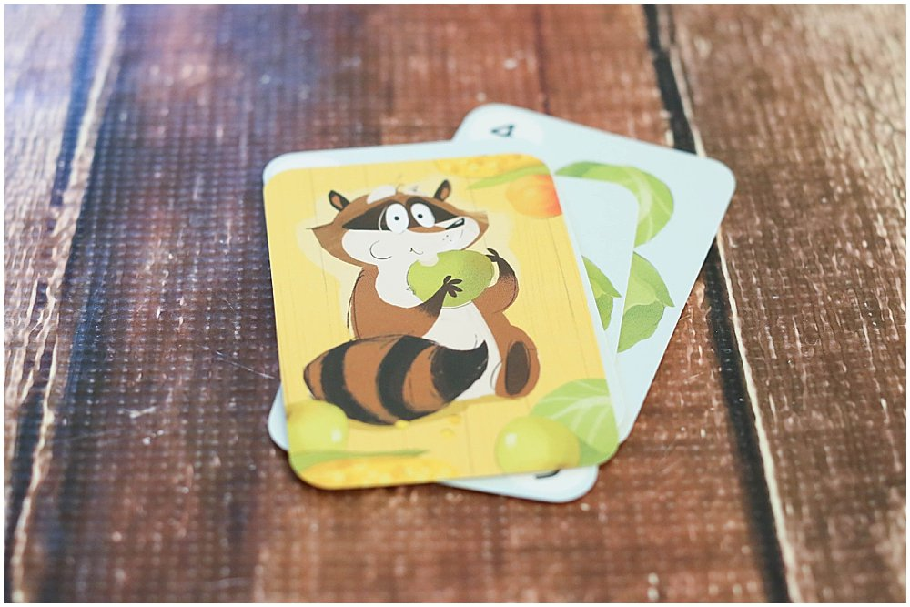 The raccoon Clumsy Thief Junior can steal pairs of cards.
