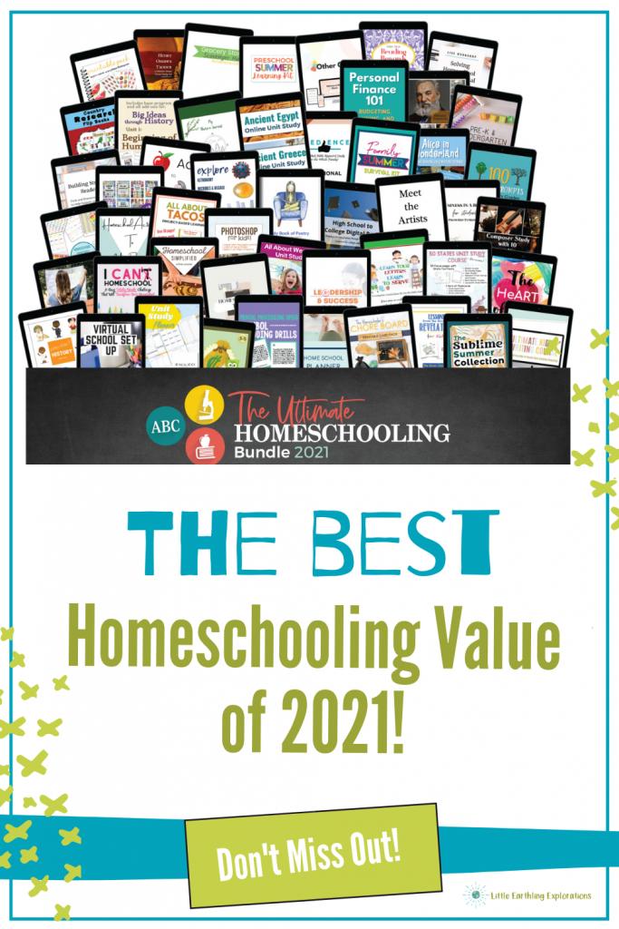 Ulitmate Homeschooling Bundle 2021