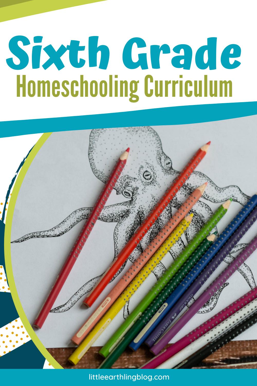 Sixth Grade Homeschooling Curriculum Choices