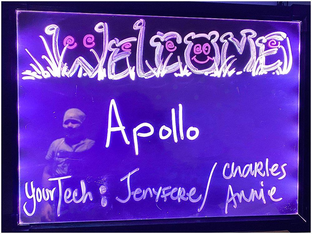 Apollo's fourth sleep study.
